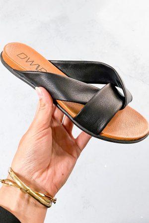 Dwrs slipper Black