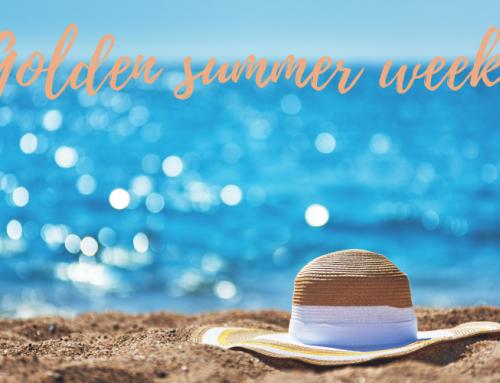 Golden summer week